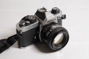 Nikon FM2 Kodak Express Grands Boulevards