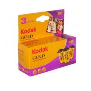 Pack de 3 Kodak Gold200 135-24 poses Kodak Express Grands Boulevards
