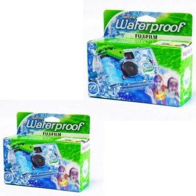 Fuji Quick Snap Waterproof 27 poses X2