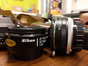 Objectif d'appareil photo vintage Kodak Express Grands Boulevards