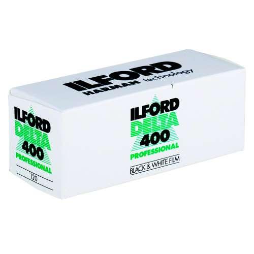 Ilford Delta 400 ASA 120 Professionnel Kodak Express Grands Boulevards