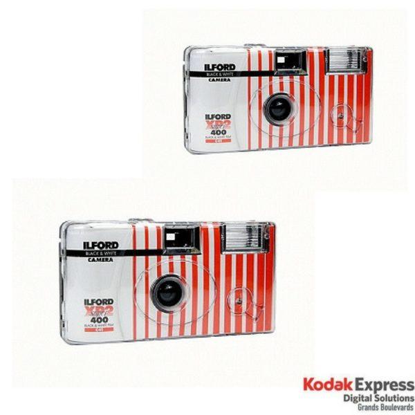 Ilford Noir et Blanc XP2 Super 400 Pack de 2
