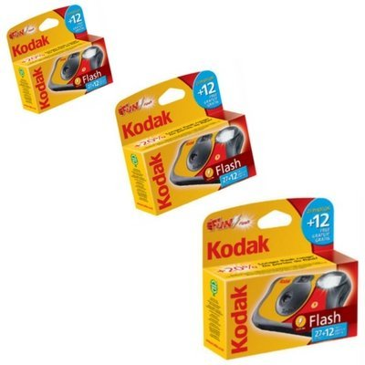 Kodak Fun Saver Flash 27 12 poses X3
