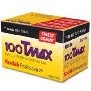 Kodak TMax 100 135 36 poses Kodak Express Paris 2