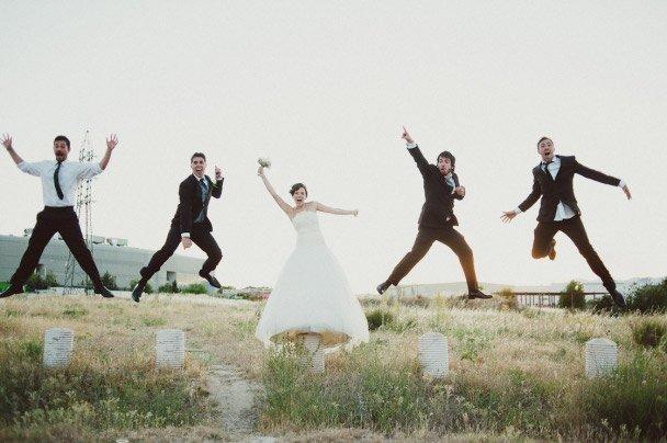 mariage avec appareils photo jetables