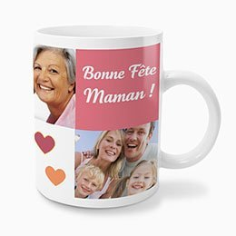 mug personnalisé maman Kodak Express Paris 2