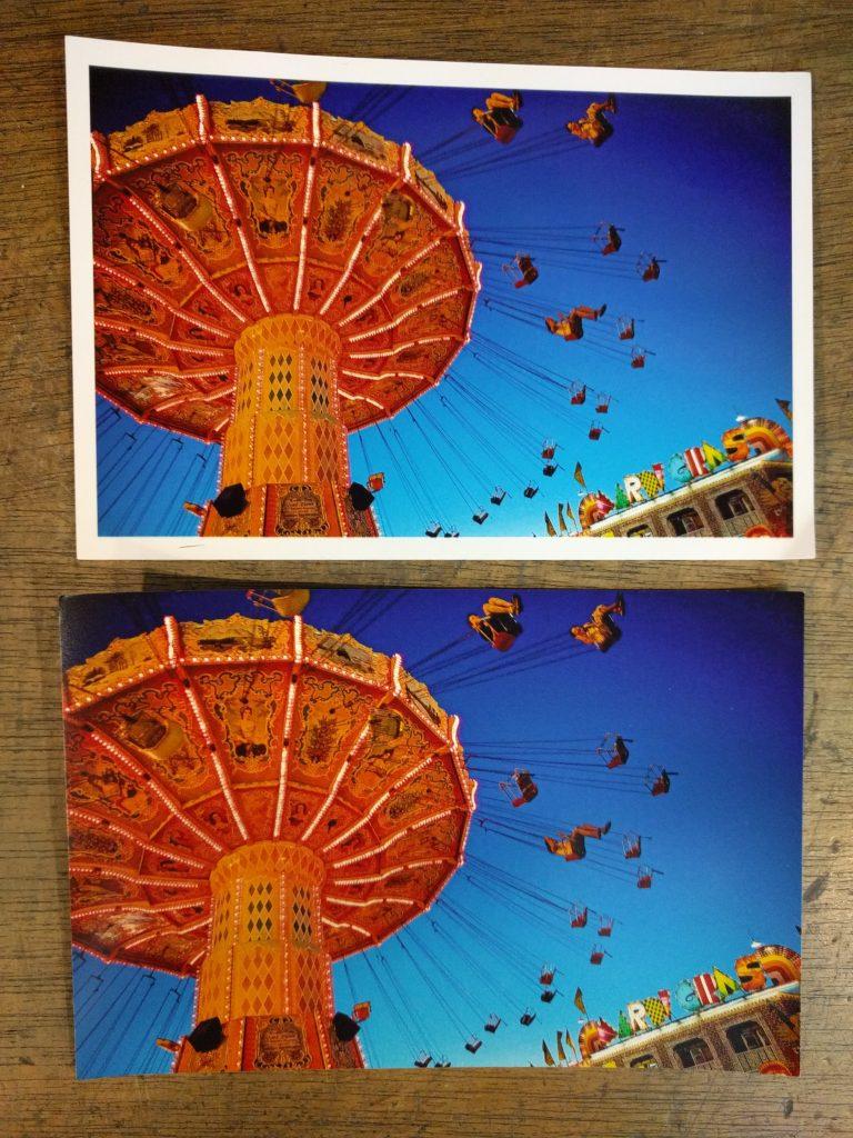Tirage photo avec ou sans bordure à Paris Kodak Express