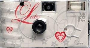 appareil photo jetable mariage Liebe Paris Kodak Express Grands Boulevards