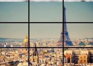 Paris Tour Eiffel Panorama Kodak Express