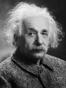 Albert Einstein portrait Paris Kodak Express