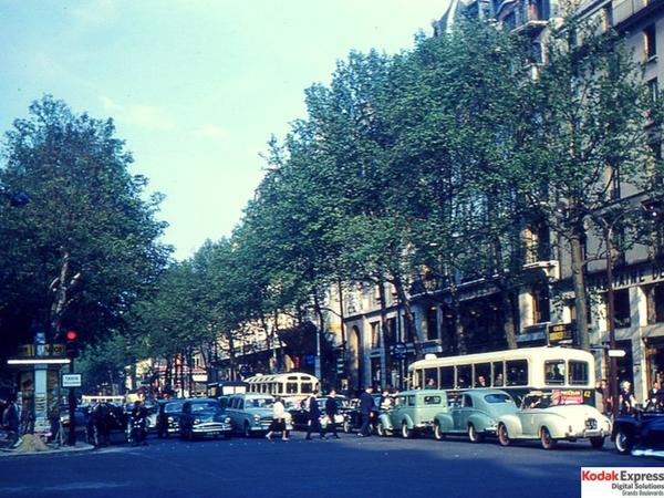 Grands Boulevards en photo Kodak Express Paris 2