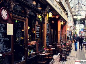 Passage des panoramas Grands Boulevards en photo Kodak Express Paris 2