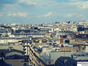 Les toits de Paris Kodak Express Grands Boulevards