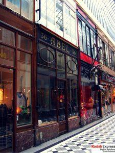 Passage des Panoramas Kodak Express Paris 2 Grands Boulevards
