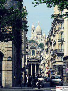 Boulevard des Italiens Paris Grands Boulevards Kodak Express