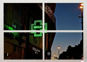 L'amour court les rues de Paris Kodak Express Grands Boulevards
