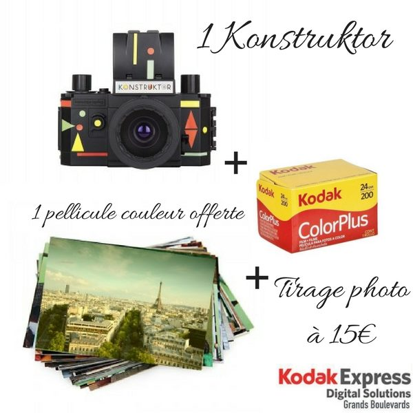 Kit Konstruktor Noël Kodak Express Grands Boulevards