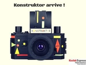 Kostruktor Lomography Kodak Express grands Boulevards