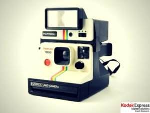 Polaroïd 1000 occasion en vente en boutique Kodak Express grands Boulevards