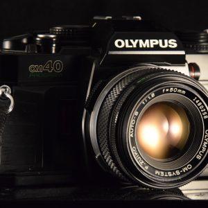 APPAREIL PHOTO OCCASION ARGENTIQUE OLYMPUS OM40 PROGRAM