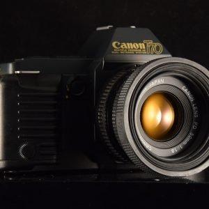 APPAREIL PHOTO ARGENTIQUE CANON T70